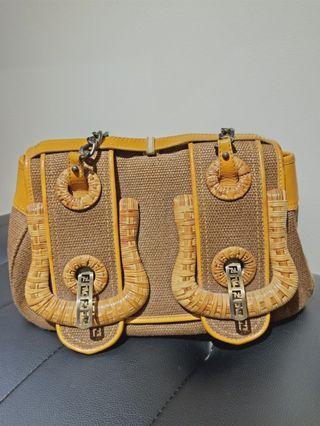 Fendi B bag yellow (bag only)