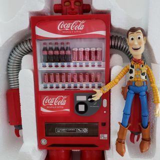 合Re-ment 胡迪 場景 Coca Cola 可口可樂 販賣機 汽水機 食玩 機器人 錢箱