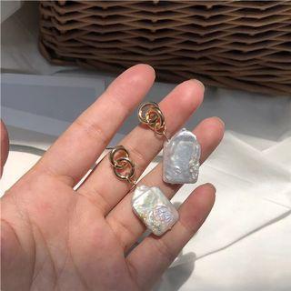 🚚 全新淡水珍珠耳環