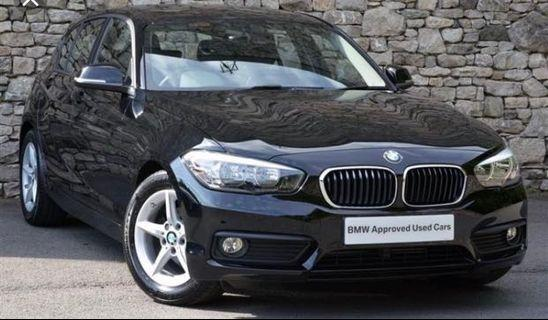 BMW 116 Diesel Rental take over