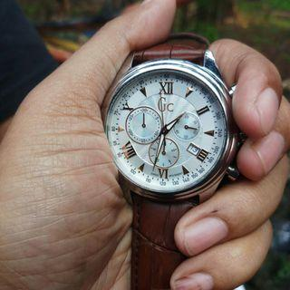 GC Original Proffesional Men's Watch With Genuine Leather Strap