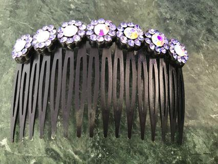 Crystal Embellished Hair Accessory