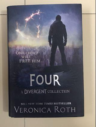 🚚 Four by Veronica Roth (hardcover)