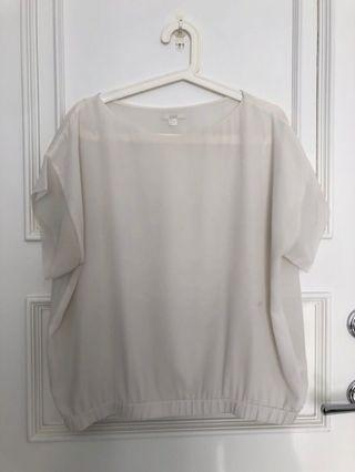COS white top