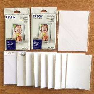 德國製Epson相紙等共90張一批合售