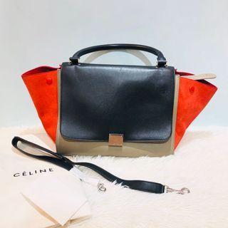 正品Celine Trapeze Bag