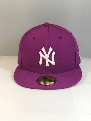 🆕New Era 5950 小童Cap 後包密封款 紫色