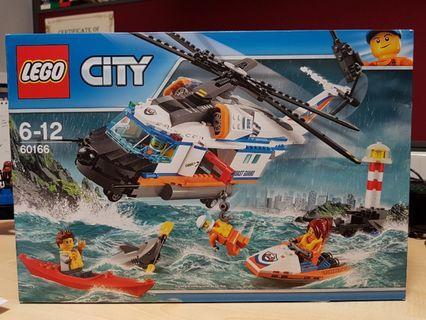 🚚 Lego City 60166 Coast Guard Rescue MISB