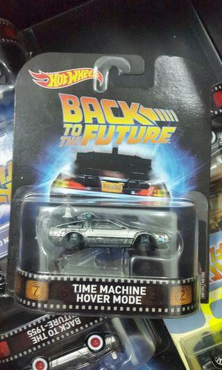 Hotwheels Retro Back to the Future Hover Mode
