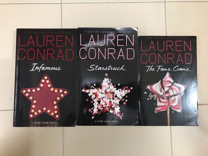 🚚 Lauren Conrad books (the fame game series)