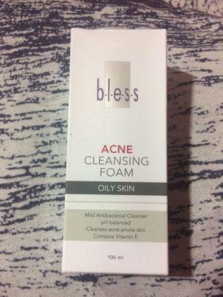 bless acne cleansing foam MURAH