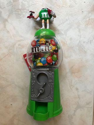 M&M Candy Dispenser M&Ms