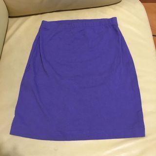 H&M purple skirt