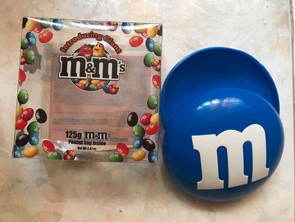 M&M Candy Case M&Ms Dispenser