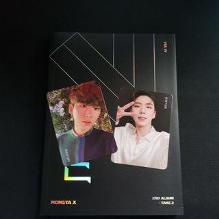 🚚 Monsta X Ver.VI album with kihyun photocards