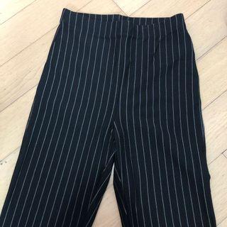 Super High Waisted Striped Leggings