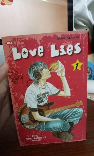 KOMIK LOVE LIES 1-6 (UNFINISHED)