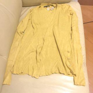 🇨🇦Yellow Cardigan 黃色外套