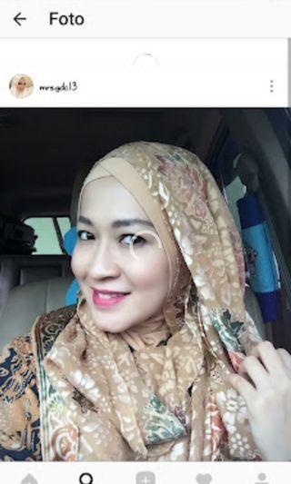 # BAPAU Jilbab kerudung instan ORI by Tiara Hijabers
