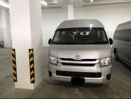 Toyota Hiace 2.8 High Roof GL Commuter 14-Seater Auto