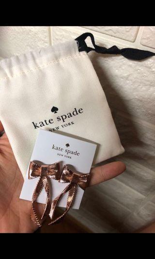 Katespade earrings 限時$99!!!!!!!!