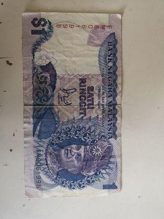 Old notes. Malaysia