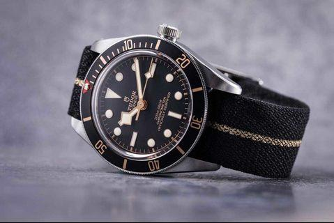 🚚 Tudor Black Bay 58 Fabric Strap
