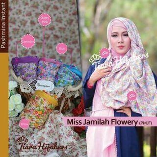 #BAPAU Hijab instan ORI by Tiara Hijabers Kode PMJF warna dusty pink