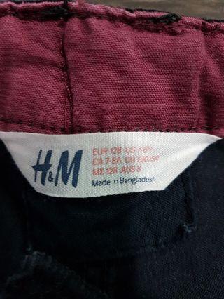 🚚 H&M Corduroy Pants Black