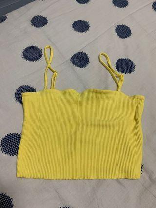 🚚 Yellow Spag Top