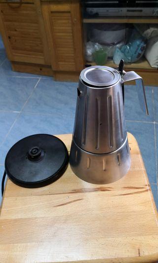 蒸餾咖啡壺 電熱不銹鋼