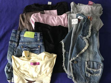 [BUNDLE] $10 for 10pc Clothing