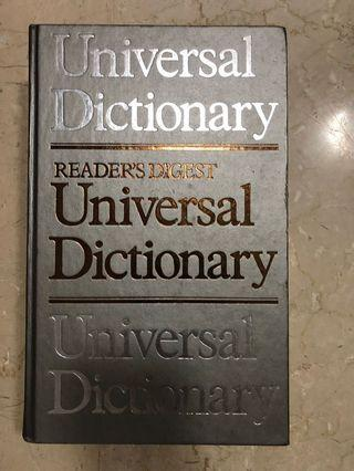 🚚 Reader's Digest universal  Dictionary