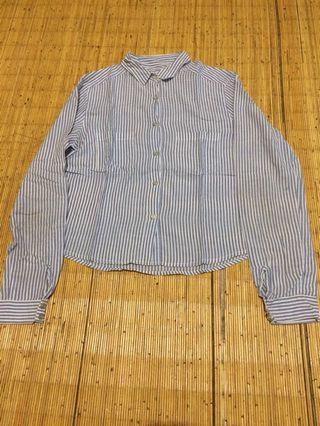 Mango Stripped Shirt for Woman