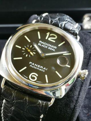 Panerai Radiomir Black Seal Pam 287, B/P undated.