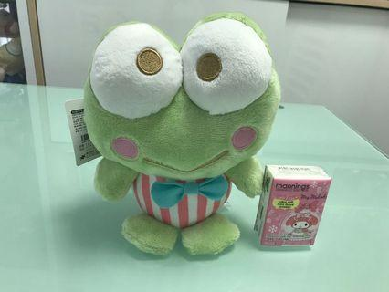 Keroppi 公仔 Sanrio 青蛙