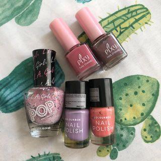Nail Polish (Colourbox, Oriflame, LA GIRL) #BAPAU