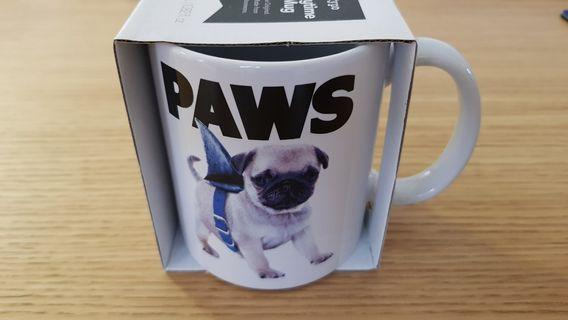 Dog Coffee Mug from Typo (Brand New)