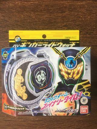 幪面超人 時王 Kamen Rider Zi-O DX Ginga Miridewatch Woz riderwatch