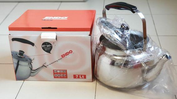 Endo 7L stainless steel whistling kettle