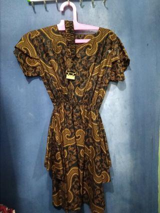 #BAPAU Dress Batik