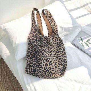 🚚 豹紋購物袋