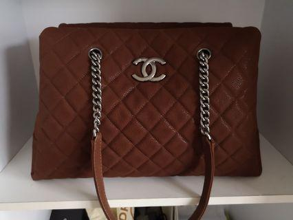 Authentic Chanel Classic Tote