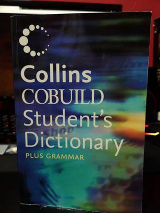 Collins Cobuild Student's Dictionary