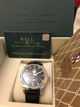 Limited Edition Ball Trainmaster First Flight