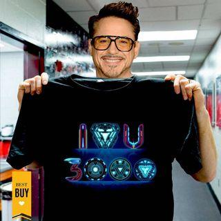 [Marvel] Avengers 4 Ironman LOVE U 3000 T-shirt