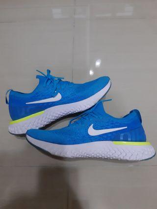 🚚 Nike epic react flyknit blue