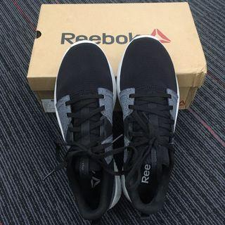 #BAPAU REEBOK RUNNING SHOES BLACK GREY