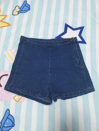 🚚 Dark Blue Denim Shorts