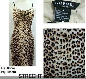 Leopard Dress/ dress macan